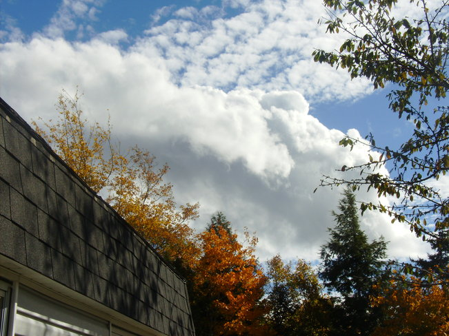 Very pretty clouds New Minas, Nova Scotia Canada
