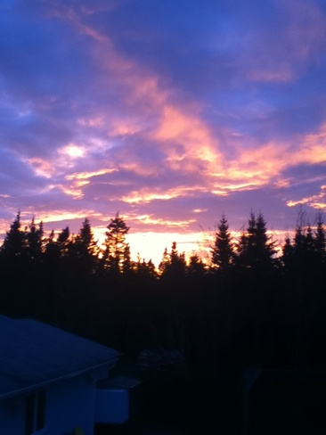 sunset Mira Road, Nova Scotia Canada
