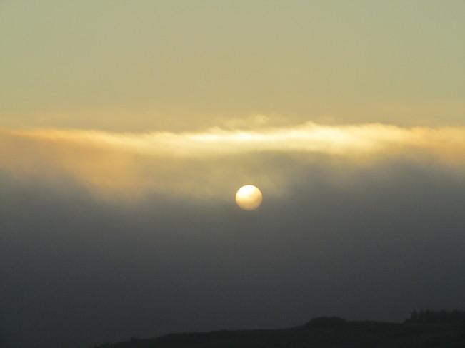 Sun Coming Out Calgary, Alberta Canada
