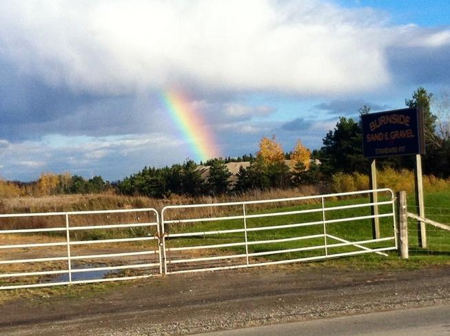Stunning rainbow Richmond, Ontario Canada