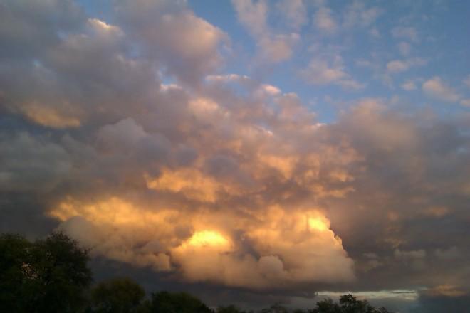 Glowing Clouds Hamilton, Ontario Canada