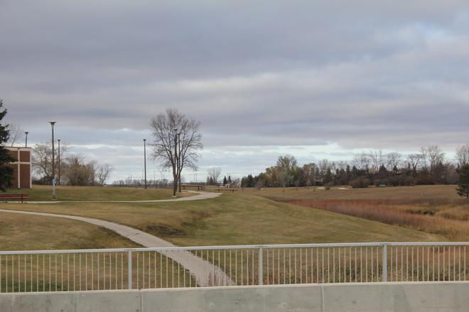 Broken Cloud Winnipeg, Manitoba Canada