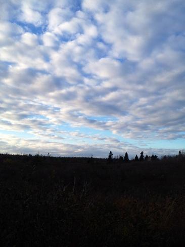 Fall sky Halifax, Nova Scotia Canada