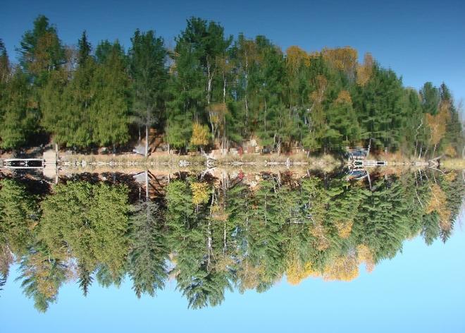 Reflection Boucherville, Quebec Canada