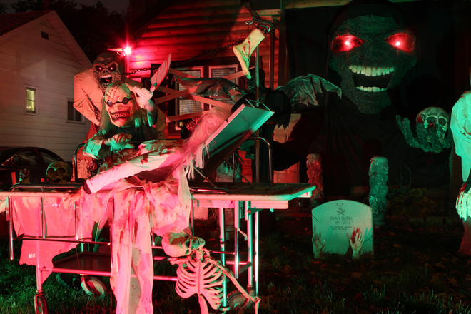 Halloween by Night London, Ontario Canada