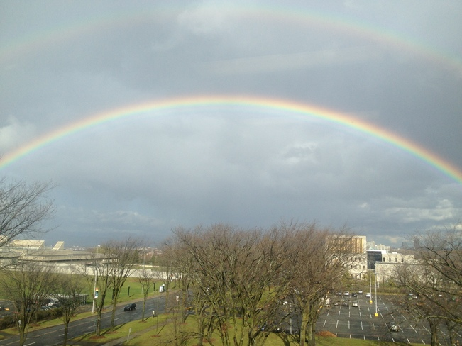 Double Rainbow Québec, Quebec Canada