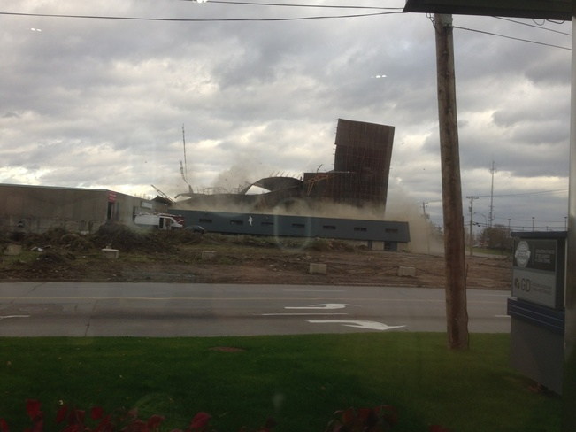 wind stom Laval, Quebec Canada
