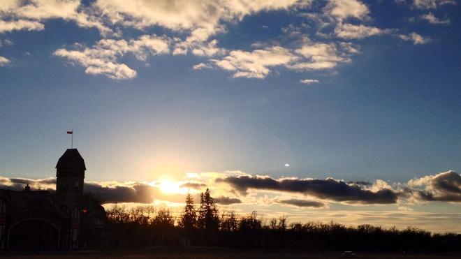 A beautiful November 1st Winnipeg, Manitoba Canada