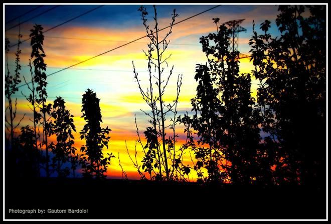Awesome Sunset! Edmonton, Alberta Canada