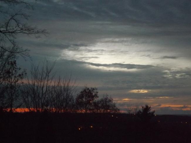 night horizon New Minas, Nova Scotia Canada