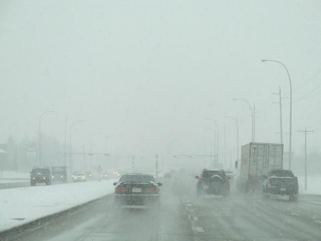 Still Snowing Calgary, Alberta Canada