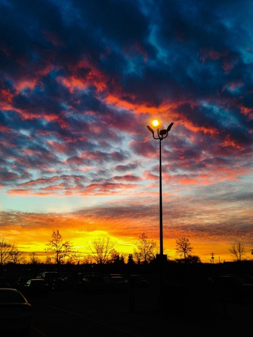 Sunrise Sky over Winnipeg Winnipeg, Manitoba Canada