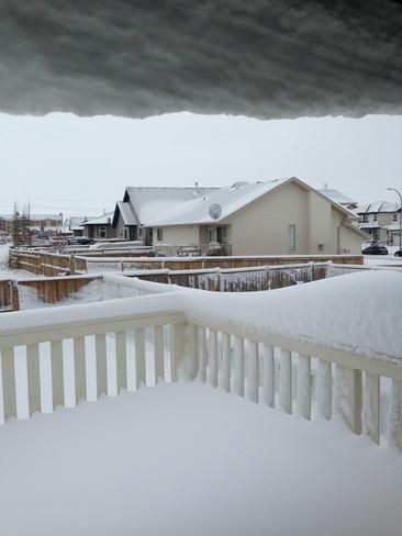 Welcome old man winter! Red Deer, Alberta Canada