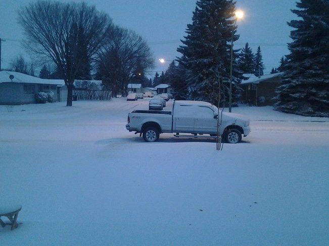 snow here to stay Saskatoon, Saskatchewan Canada