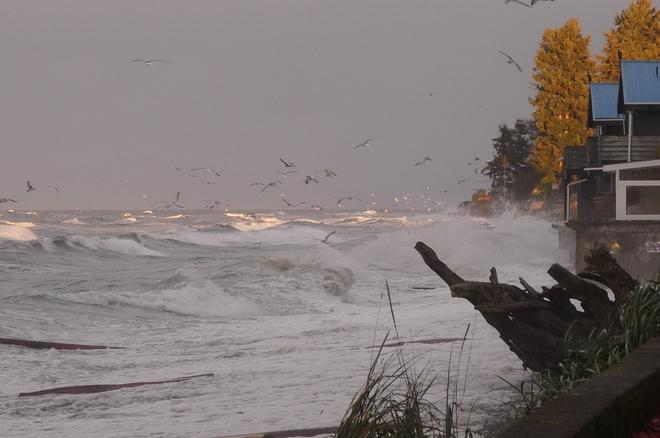Angry Seas Qualicum Beach, British Columbia Canada