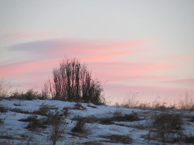 Sunrise & Snow Calgary, Alberta Canada