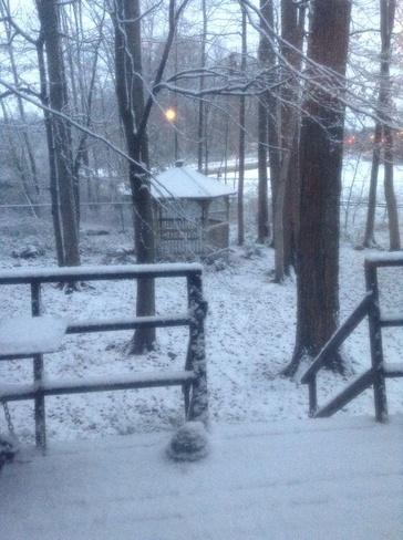November Snow Waterloo, Ontario Canada