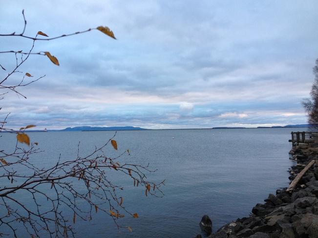 Beautiful Lake Superior Thunder Bay, Ontario Canada