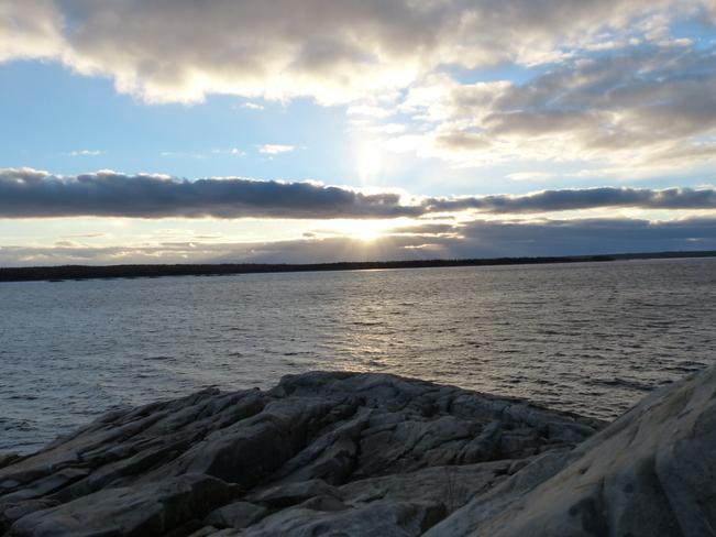 Brisk afternoon Shelburne, Nova Scotia Canada