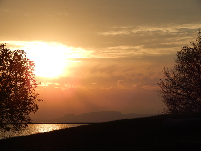 A Giant of a Sunrise Thunder Bay, Ontario Canada