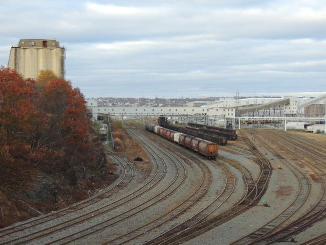 Halifax Train Tracks November 13th 2013 Halifax, Nova Scotia Canada