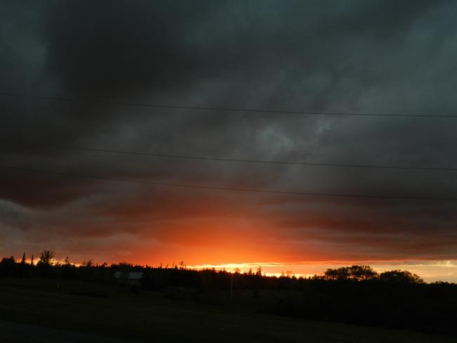 Lovely sunset Charlottetown, Prince Edward Island Canada