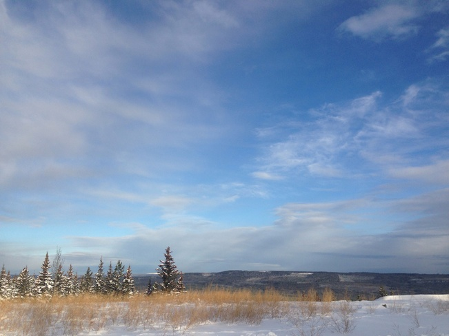 calm before the storm Hinton, Alberta Canada