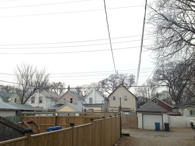 Cloudy and warm +1c Winnipeg, Manitoba Canada