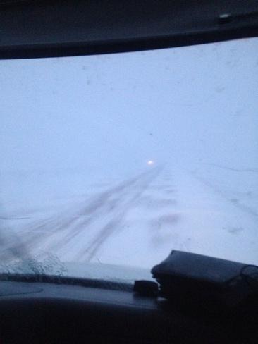 roads Ponoka, Alberta Canada