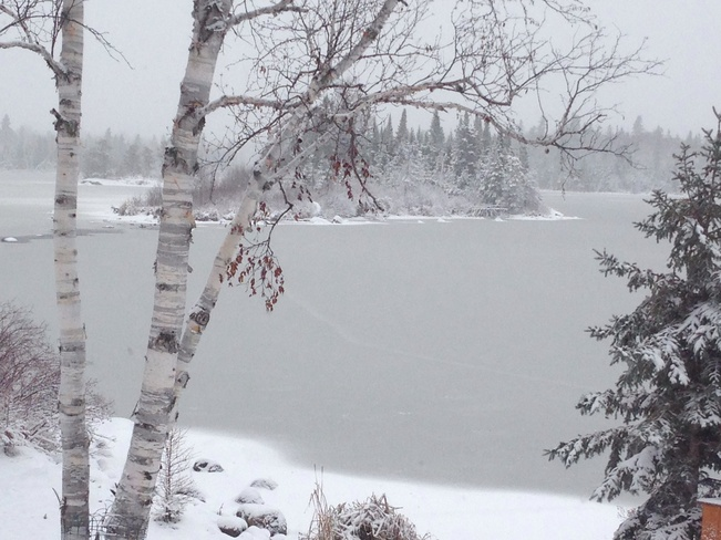 Snowy Island Rennie, Manitoba Canada