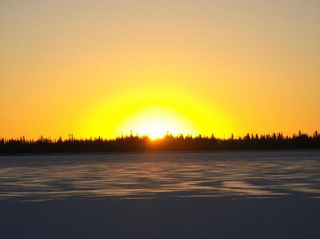 Kasabonika Sunrise. Kasabonika, Ontario Canada