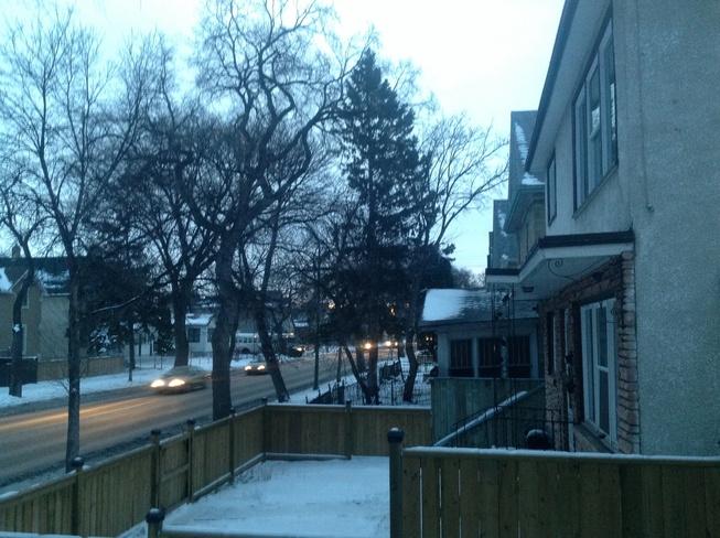 Going too be sunny. Winnipeg, Manitoba Canada
