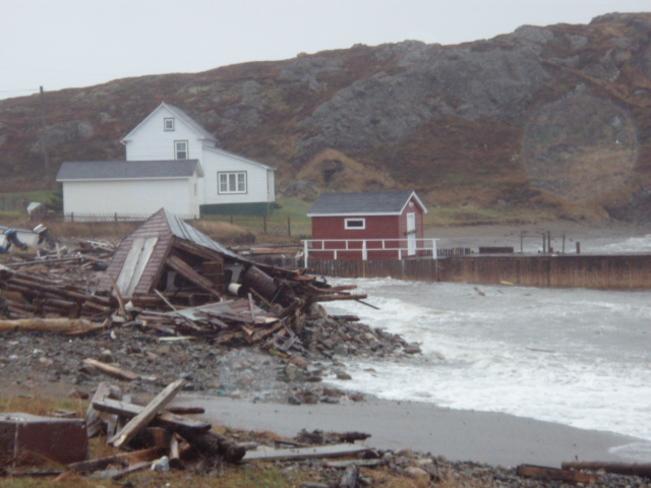 Storm Surge in Twillngate Twillingate, Newfoundland and Labrador Canada