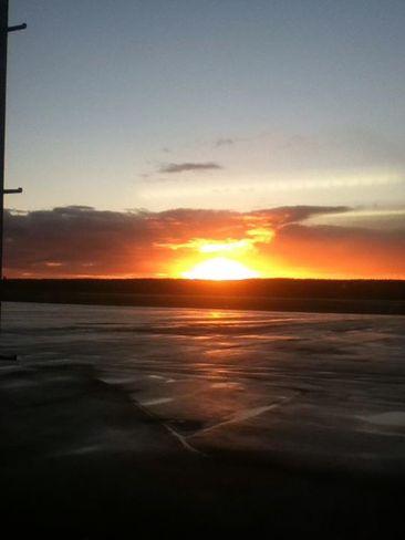 morning sunrise Deer Lake, Newfoundland and Labrador Canada