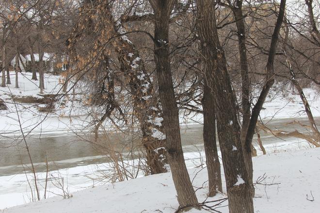 Close to Freezing Winnipeg, Manitoba Canada