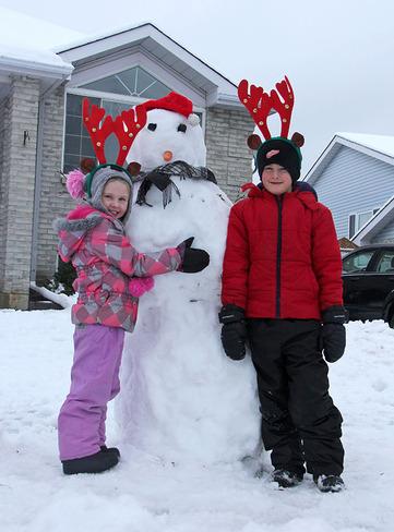 Hooray - It's a Snow Day Cornwall, Ontario Canada