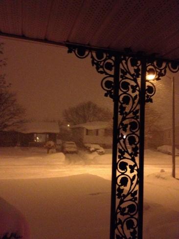 Round 2 - A Snowy Night St. Thomas, Ontario Canada
