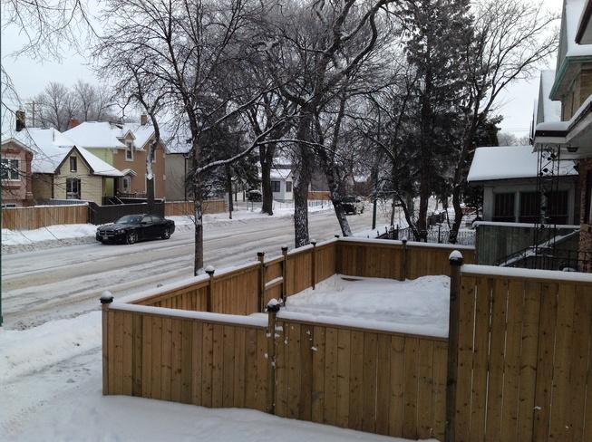 Plowed this morning. Winnipeg, Manitoba Canada