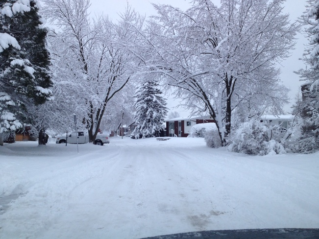 Road Condition Gatineau, Quebec Canada
