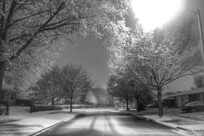snowy night 2 Streetsville, Ontario Canada