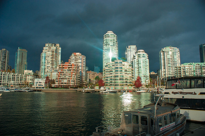 Silver beam Vancouver, British Columbia Canada
