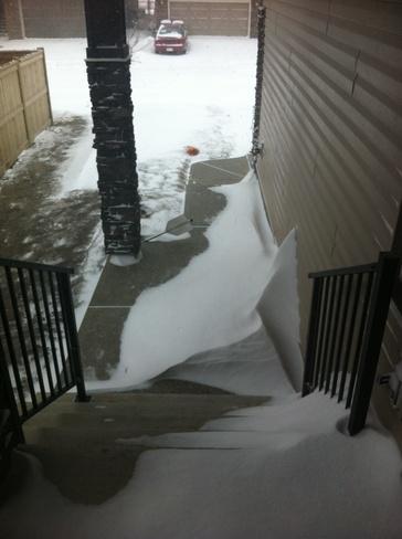 snow-snow Calgary, Alberta Canada