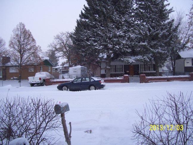 more snow Redcliff, Alberta Canada