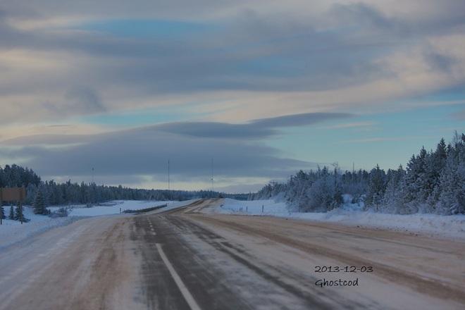 -17.3°C Swan Hills, Alberta Canada
