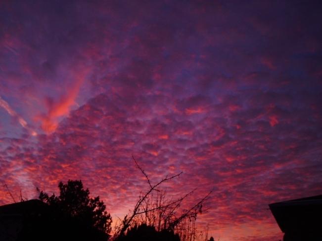 sunset Hamilton, Ontario Canada
