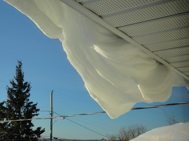 Snow Drift Kenora, Ontario Canada