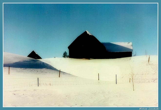 """Gaylord Barn"" Gaylord, Michigan United States"