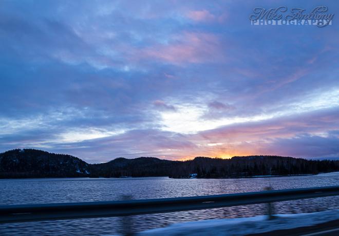 Crescent Lake Robert's Arm, Newfoundland and Labrador Canada