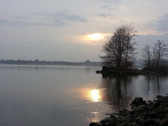 my winter fishing Hamilton, Ontario Canada