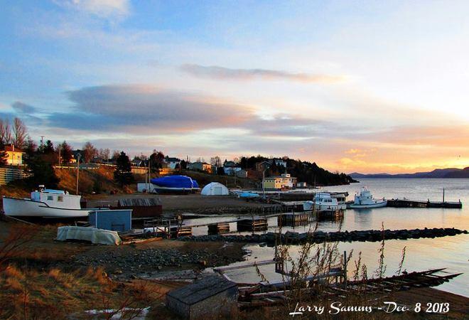 """Beautiful Morning In Springdale"" Springdale, Newfoundland and Labrador Canada"